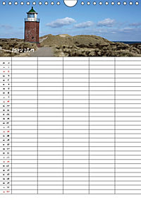 Familienplaner - Sylt (Wandkalender 2019 DIN A4 hoch) - Produktdetailbild 3