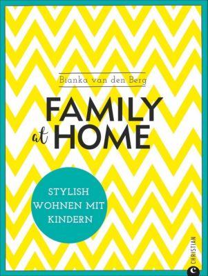 Family at home, Bianka van den Berg