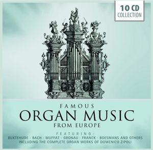 Famous Organ Music From Europe, Various