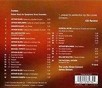 Fanfare - British Music for Symphonic Brass Esemble - Produktdetailbild 1