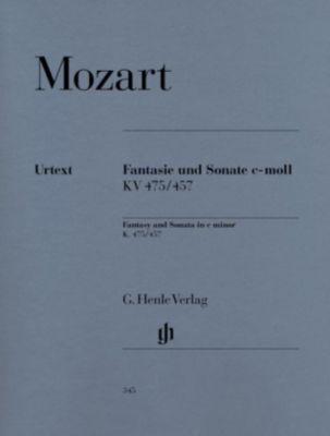 Fantasie und Sonate c-Moll KV 475/457 (Revidierte Ausgabe mit Kritischem Bericht), Klavier, Wolfgang Amadeus Mozart