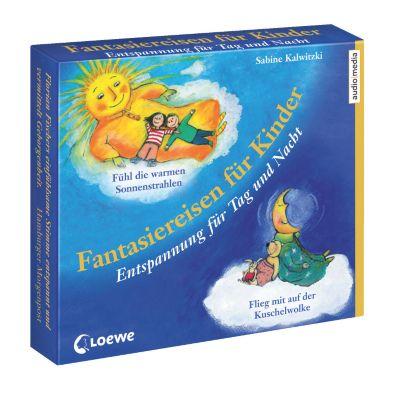 Fantasiereisen für Kinder, 2 CDs im Schuber, Sabine Kalwitzki