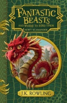 Fantastic Beasts and Where to Find Them, Joanne K. Rowling, Newt Scamander