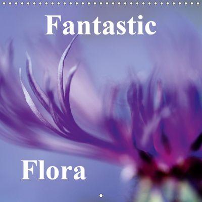 Fantastic Flora (Wall Calendar 2019 300 × 300 mm Square), Neil Davies