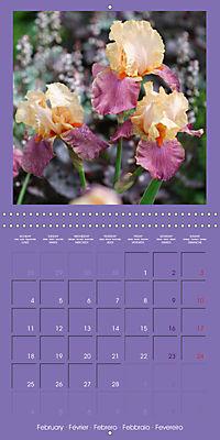 Fantastic Iris (Wall Calendar 2019 300 × 300 mm Square) - Produktdetailbild 2