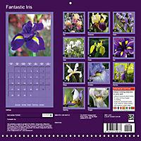Fantastic Iris (Wall Calendar 2019 300 × 300 mm Square) - Produktdetailbild 13