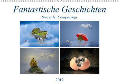 Fantastische Geschichten (Wandkalender 2019 DIN A2 quer), Ursula Di Chito