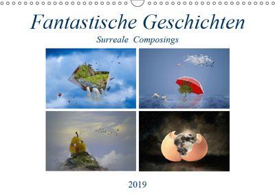 Fantastische Geschichten (Wandkalender 2019 DIN A3 quer), Ursula Di Chito