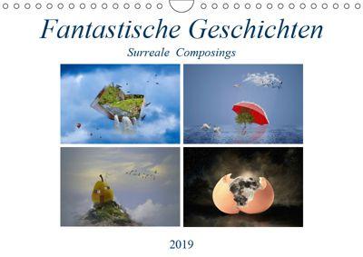 Fantastische Geschichten (Wandkalender 2019 DIN A4 quer), Ursula Di Chito