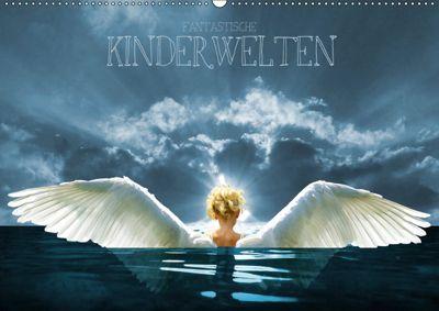 Fantastische Kinderwelten (Wandkalender 2019 DIN A2 quer), Harald Fischer
