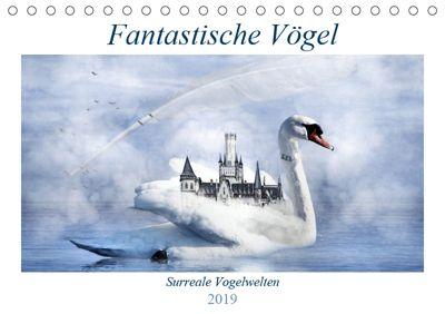 Fantastische Vögel (Tischkalender 2019 DIN A5 quer), Garrulus glandarius