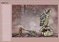 Fantastische Vögel (Tischkalender 2019 DIN A5 quer) - Produktdetailbild 1