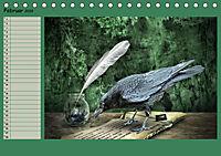 Fantastische Vögel (Tischkalender 2019 DIN A5 quer) - Produktdetailbild 2