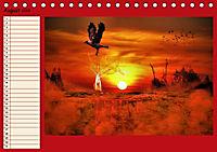 Fantastische Vögel (Tischkalender 2019 DIN A5 quer) - Produktdetailbild 8