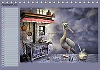 Fantastische Vögel (Tischkalender 2019 DIN A5 quer) - Produktdetailbild 11