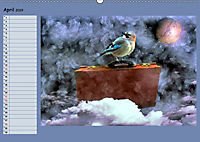 Fantastische Vögel (Wandkalender 2019 DIN A2 quer) - Produktdetailbild 4