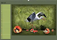 Fantastische Vögel (Wandkalender 2019 DIN A2 quer) - Produktdetailbild 7