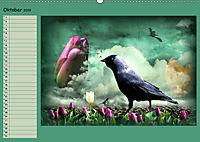 Fantastische Vögel (Wandkalender 2019 DIN A2 quer) - Produktdetailbild 10