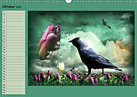 Fantastische Vögel (Wandkalender 2019 DIN A3 quer) - Produktdetailbild 10