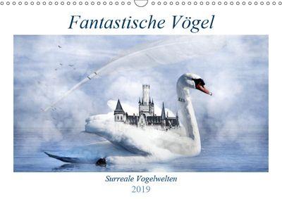 Fantastische Vögel (Wandkalender 2019 DIN A3 quer), Garrulus glandarius