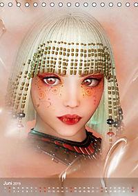 Fantasy Art Portraits (Tischkalender 2019 DIN A5 hoch) - Produktdetailbild 6