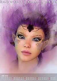 Fantasy Art Portraits (Tischkalender 2019 DIN A5 hoch) - Produktdetailbild 7