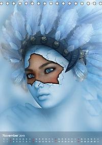Fantasy Art Portraits (Tischkalender 2019 DIN A5 hoch) - Produktdetailbild 11