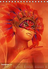 Fantasy Art Portraits (Tischkalender 2019 DIN A5 hoch) - Produktdetailbild 9