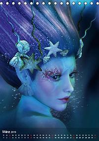 Fantasy Art Portraits (Tischkalender 2019 DIN A5 hoch) - Produktdetailbild 3