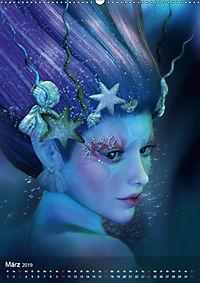 Fantasy Art Portraits (Wandkalender 2019 DIN A2 hoch) - Produktdetailbild 3