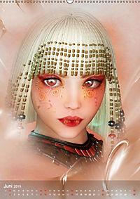 Fantasy Art Portraits (Wandkalender 2019 DIN A2 hoch) - Produktdetailbild 6