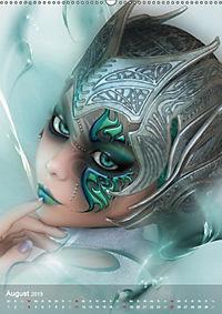 Fantasy Art Portraits (Wandkalender 2019 DIN A2 hoch) - Produktdetailbild 8