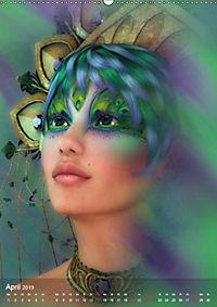 Fantasy Art Portraits (Wandkalender 2019 DIN A2 hoch) - Produktdetailbild 4