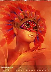 Fantasy Art Portraits (Wandkalender 2019 DIN A2 hoch) - Produktdetailbild 9