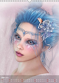 Fantasy Art Portraits (Wandkalender 2019 DIN A3 hoch) - Produktdetailbild 5