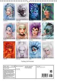 Fantasy Art Portraits (Wandkalender 2019 DIN A3 hoch) - Produktdetailbild 13