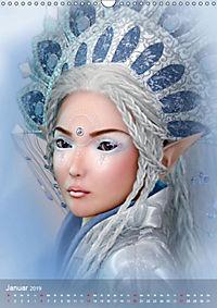 Fantasy Art Portraits (Wandkalender 2019 DIN A3 hoch) - Produktdetailbild 1