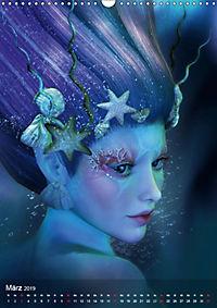 Fantasy Art Portraits (Wandkalender 2019 DIN A3 hoch) - Produktdetailbild 3