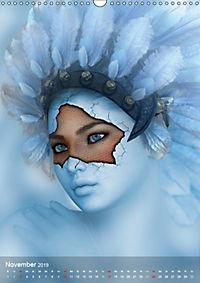 Fantasy Art Portraits (Wandkalender 2019 DIN A3 hoch) - Produktdetailbild 11