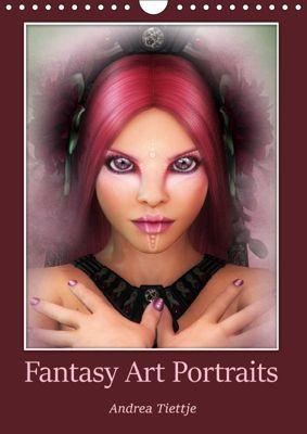 Fantasy Art Portraits (Wandkalender 2019 DIN A4 hoch), Andrea Tiettje