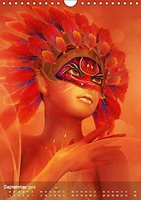 Fantasy Art Portraits (Wandkalender 2019 DIN A4 hoch) - Produktdetailbild 9
