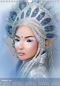 Fantasy Art Portraits (Wandkalender 2019 DIN A4 hoch) - Produktdetailbild 1