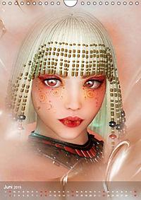 Fantasy Art Portraits (Wandkalender 2019 DIN A4 hoch) - Produktdetailbild 6