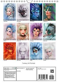 Fantasy Art Portraits (Wandkalender 2019 DIN A4 hoch) - Produktdetailbild 13