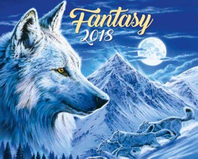 Fantasy Kalenderpaket 2018, 6-tlg.