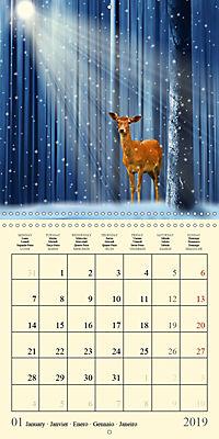 Fantasy World Mausopardia (Wall Calendar 2019 300 × 300 mm Square) - Produktdetailbild 1