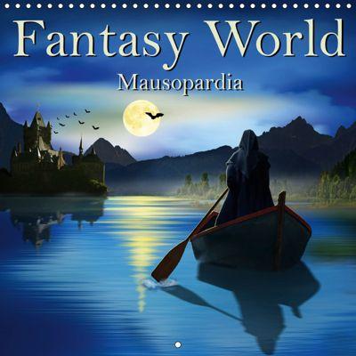 Fantasy World Mausopardia (Wall Calendar 2019 300 × 300 mm Square), Monika Jüngling alias Mausopardia