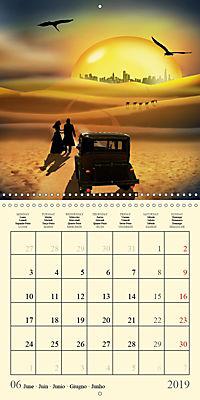 Fantasy World Mausopardia (Wall Calendar 2019 300 × 300 mm Square) - Produktdetailbild 6