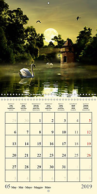 Fantasy World Mausopardia (Wall Calendar 2019 300 × 300 mm Square) - Produktdetailbild 5
