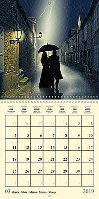 Fantasy World Mausopardia (Wall Calendar 2019 300 × 300 mm Square) - Produktdetailbild 3